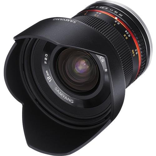 Samyang Obiectiv Foto Mirrorless 12mm F2.0 NCS CS Montura Fujifilm X Negru [1]
