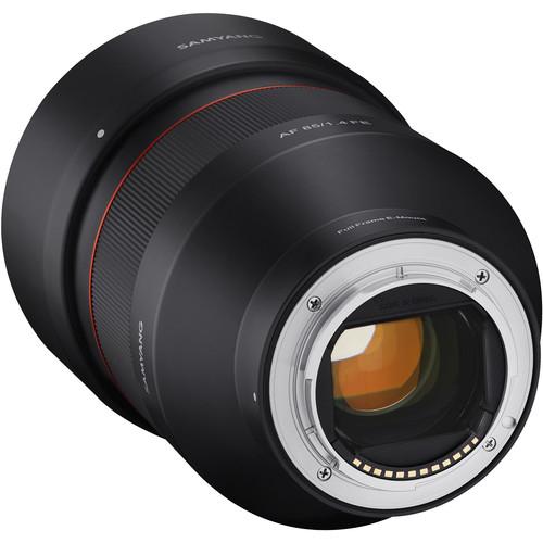 Samyang Obiectiv Foto Mirrorless AF 85mm f1.4 Sony FE 5