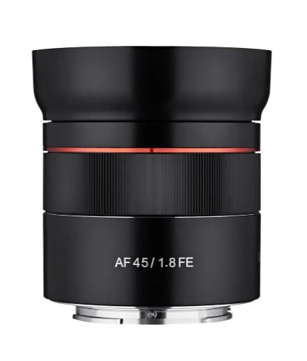 Samyang Obiectiv Foto Mirrorless AF 45mm f1.8 Sony E 0