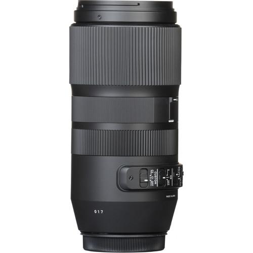 Sigma 100-400mm Obiectiv Foto DSLR f 5-6.3 DG OS HSM CANON 5