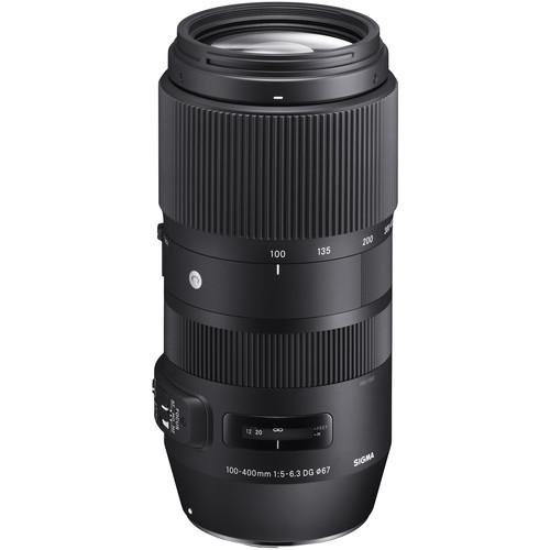Sigma 100-400mm Obiectiv Foto DSLR f 5-6.3 DG OS HSM CANON 1