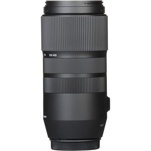 Sigma 100-400mm Obiectiv Foto DSLR f 5-6.3 DG OS HSM CANON 4