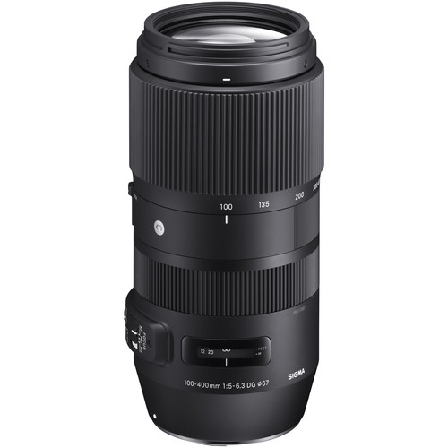 Sigma 100-400mm Obiectiv Foto DSLR f5-6.3 DG OS HSM NIKON [1]