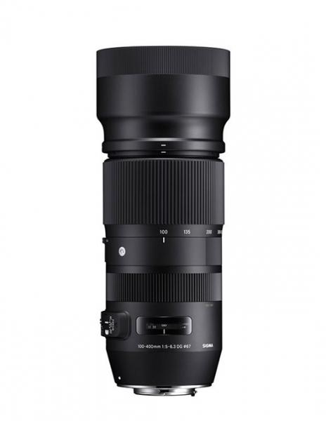 Sigma 100-400mm Obiectiv Foto DSLR f 5-6.3 DG OS HSM CANON 0