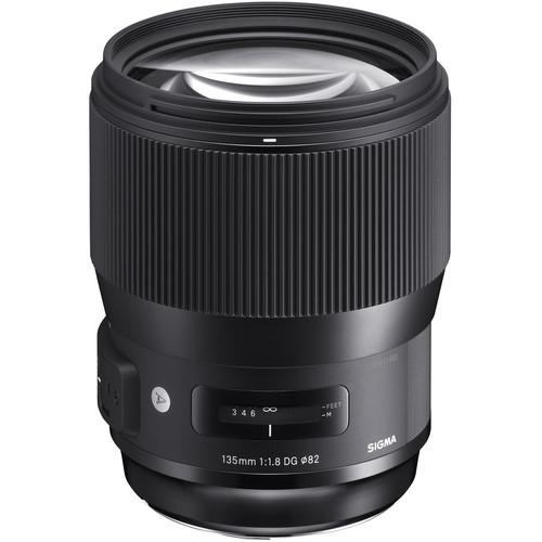 Sigma 135mm Obiectiv Foto DSLR f1.8 DG HSM ART Canon produs expus [1]