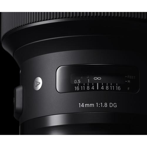 Sigma 14mm Obiectiv Foto DSLR f1.8 DG HSM ART NIKON 6