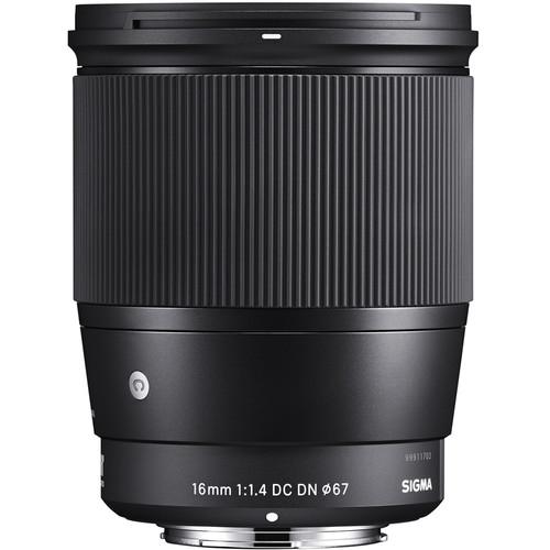Sigma 16mm Obiectiv Foto Mirrorless f1.4 DC DN C Canon EF-M 1