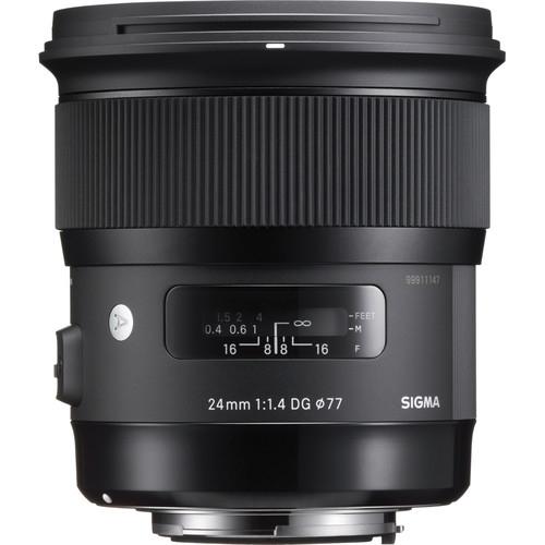 Sigma 24mm Obiectiv Foto DSLR f1.4 DG HSM ART NIKON 0