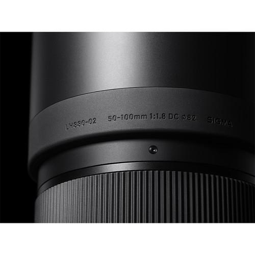 Sigma 50-100mm Obiectiv Foto DSLR f1.8 DC HSM ART CANON 6
