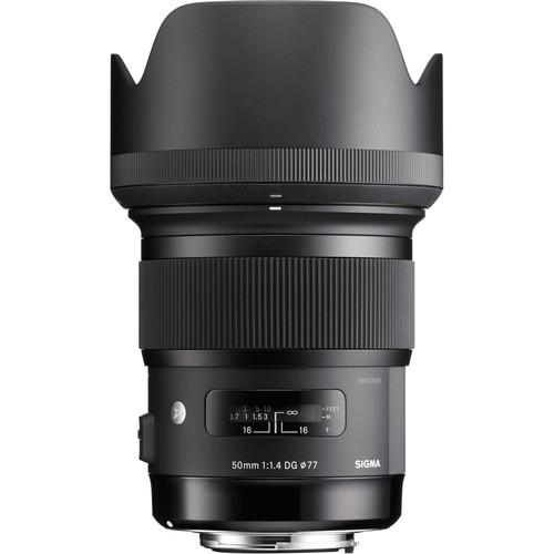 Sigma 50mm Obiectiv Foto DSLR f/1.4 DG HSM ART NIKON 1