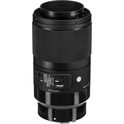 Sigma 70mm Obiectiv Foto Mirrorless f2.8 DG MACRO ART SONY E 3