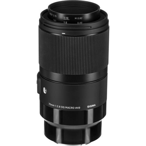 Sigma 70mm Obiectiv Foto Mirrorless f2.8 DG MACRO ART SONY E 0
