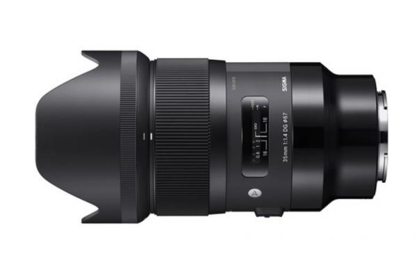 Sigma Obiectiv Foto Mirrorless 35mm f1.4 DG HSM ART SONY E (FE) 1