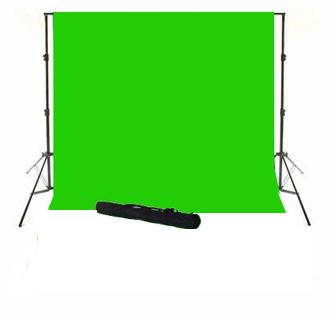 Sistem portabil cu cromakey green 3x3.5m si husa 0
