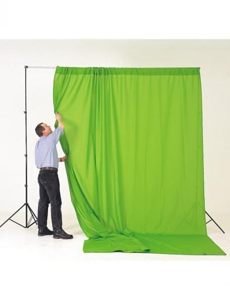 Sistem portabil cu cromakey green 3x3.5m si husa 4