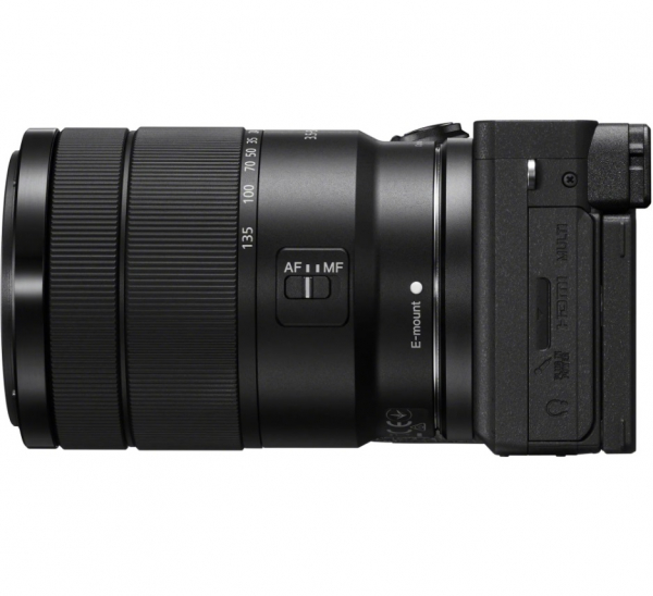 Sony Aparat Foto Mirrorless Kit Alpha A6600 24.2 MP cu Obiectiv 18-135mm 4K Negru 1