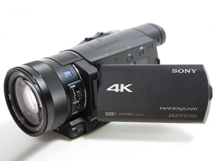 Sony FDR-AX100 Camera Video Semi-Profesionala 4K [1]