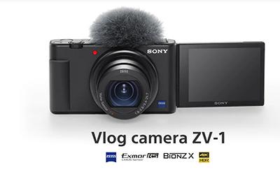 Sony ZV-1 Camera vlogging 4K 3
