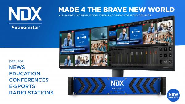 Streamstar NDX sistem live multicam 2