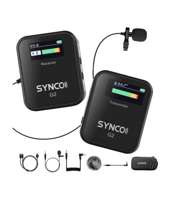 Synco G2 (A1) Lavaliera Wireless cu microfon incorporat [0]