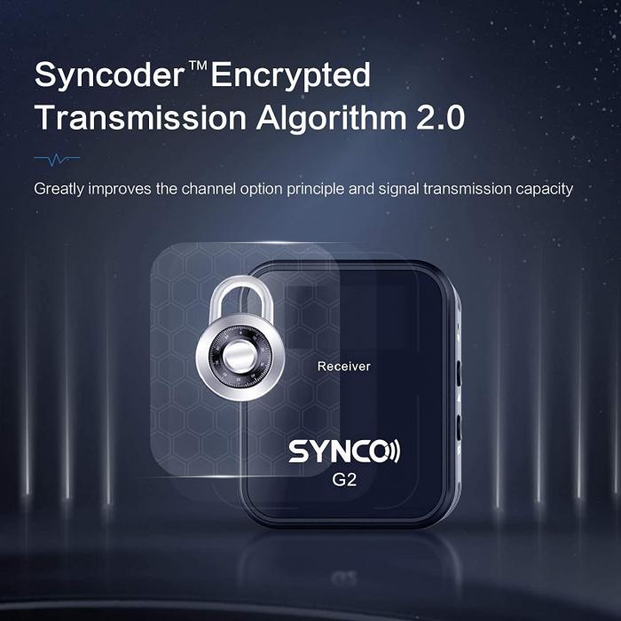 Synco G2 (A1) Lavaliera Wireless cu microfon incorporat [8]
