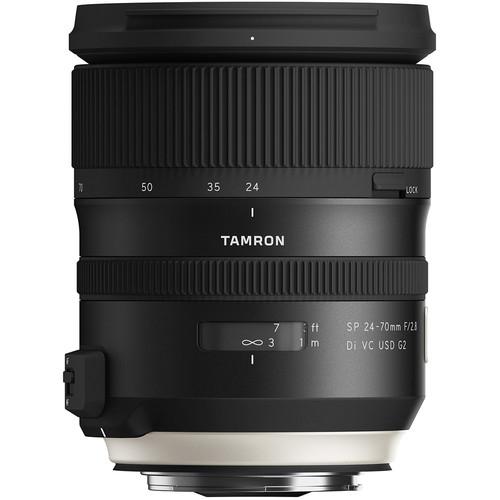Tamron SP 24-70mm Obiectiv Foto DSLR f2.8 Di VC USD G2 montura Canon EF 2