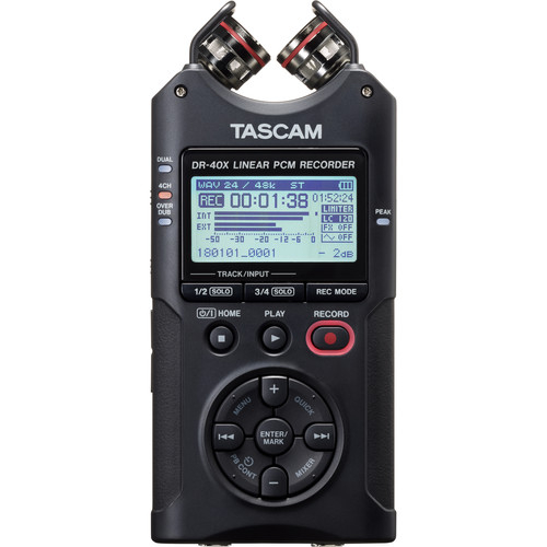 Tascam DR-40X Recorder Audio 4 Canale Interfata USB [1]
