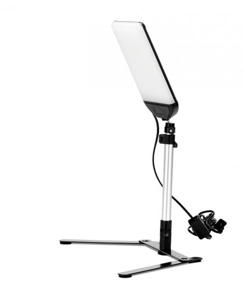 Teleprompter complet cu lavaliera si panou LED [2]