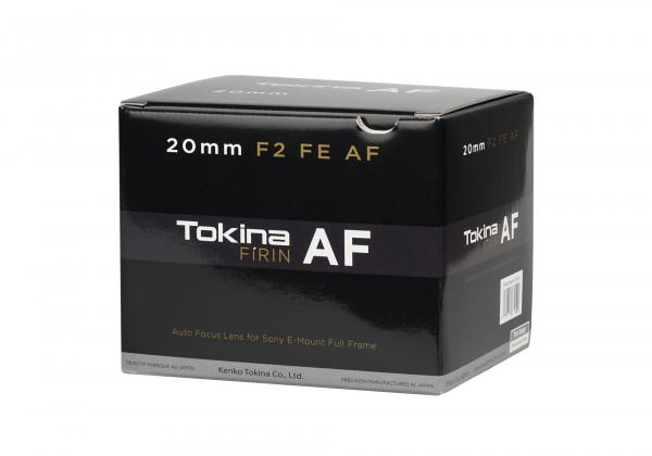Tokina FiRIN 20mm f/2 FE AF obiectiv montura Sony E full frame wide 2
