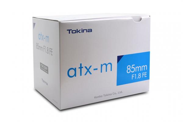 Tokina atx-m 85mm f/1.8 FE obiectiv montura Sony E 3
