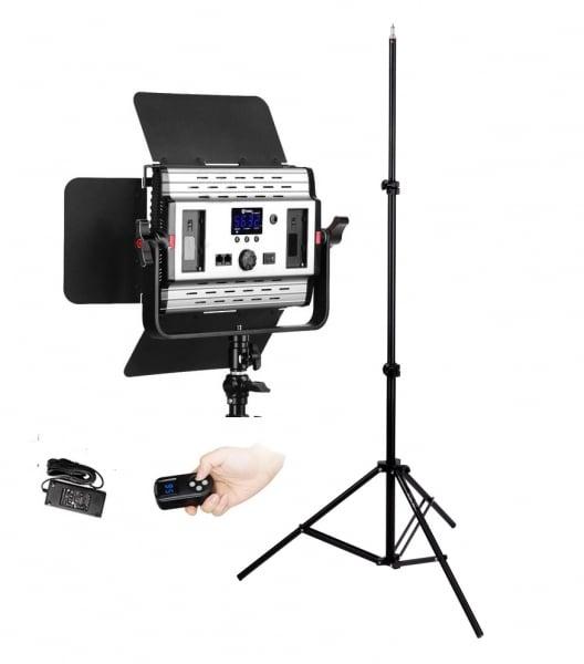 Tolifo GK-S36B Lampa Video LED Bicolorcu stativ si softbox 1