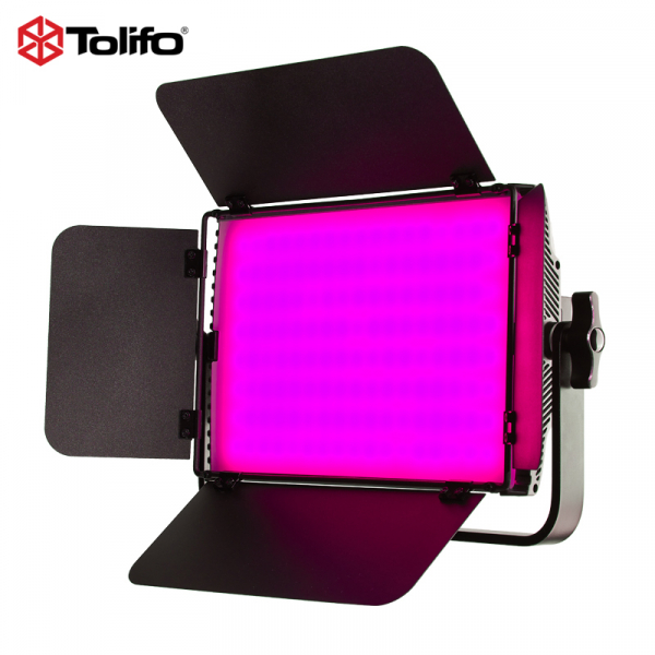 Tolifo GK-S60 LED Bicolor/RGB cu softbox si stativ [5]