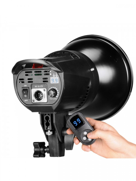 Tolifo Lampa Video LED Bicolor cu Octobox 95cm 3