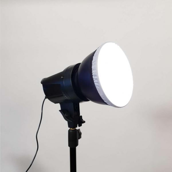 Tolifo Lampa Video LED Bicolor cu Octobox 95cm 7