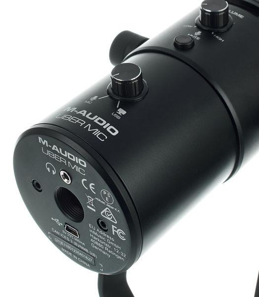 M-Audio UberMic Microfon USBcu 4 modele de polaritate selectabile 2