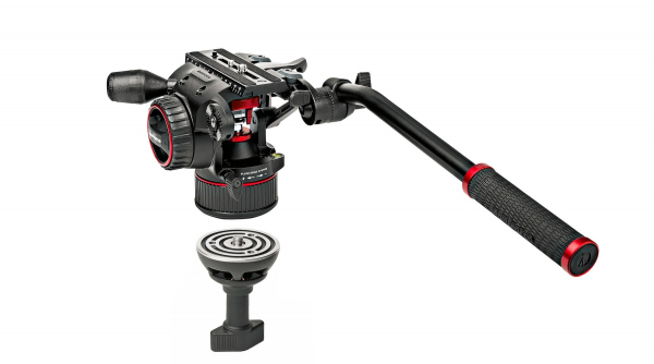Manfrotto MVKN8TWINM Nitrotech N8 kit trepied video carbon 1