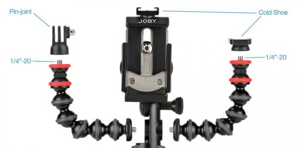 Joby GorillaPod Mobile Rig Kit Vloging pentru smartphone 4