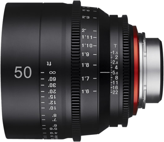 Xeen 50mm T1.5 Canon EF [4]
