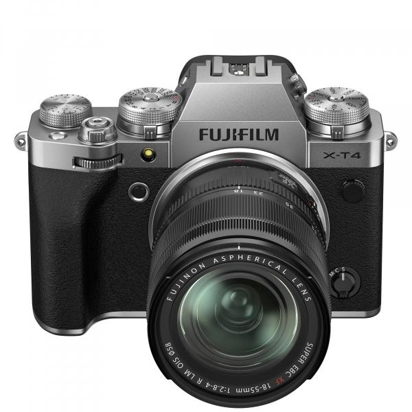 Fujifilm X-T4 Aparat Foto Mirrorless Kit cu Obiectiv 18-55 mm f2.8-4 Argintiu [2]