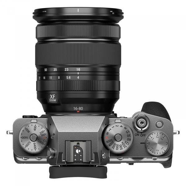 Fujifilm X-T4 Aparat Foto Mirrorless Kit cu Obiectiv 16-80 mm F.4 Argintiu 7