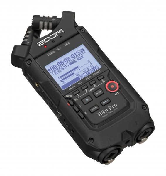Zoom H4n Pro 4 intrari reportofon portabil cu microfoane built-in X/Y (Negru) H4N PRO BLACK [0]