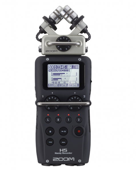 Zoom H5 Recorder audio cu 4 canale si protectie vant Rycote [0]