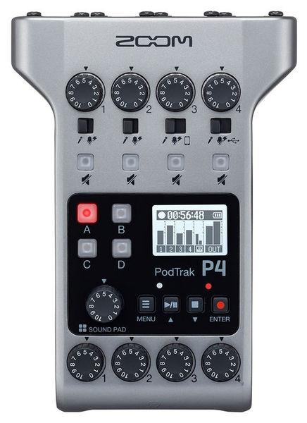 Zoom Podtrak P4 Recorder Audio Podcast 4 Canale XLR [1]