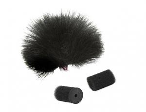 Rycote Protectie anti-vant pentru lavaliera din blana neagra