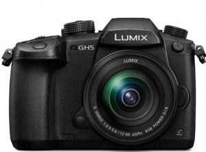 Panasonic Kit Aparat Foto Mirrorless Lumix GH5 cu Obiectiv Lumix 12-60mm f/3.5-5.6 G Vario Power O.I.S [0]