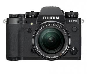 Fujifilm Kit Aparat Foto Mirrorless X-T3 cu obiectiv XF18-55mm X-Trans 4K/60p Negru0