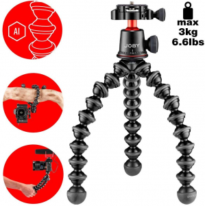 Joby Gorilla pod 3K PRO Minitrepied flexibil cu QR [5]