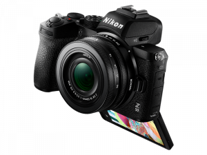 Nikon Z50 Aparat Foto Mirrorless 21MP Kit cu Obiectiv Nikkor Z DX 16-50mm f3.5-6.3 VR9