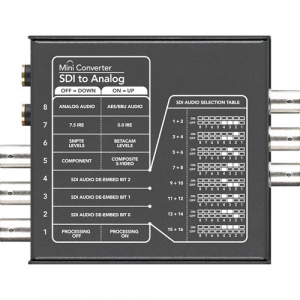 Blackmagic Design Mini Convertor SDI la Analog [2]