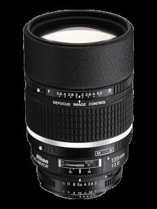 Nikon AF DC NIKKOR Obiectiv Foto DSLR 135mm f/2D0